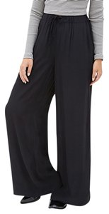 Forever 21 Wide Leg Pants Black