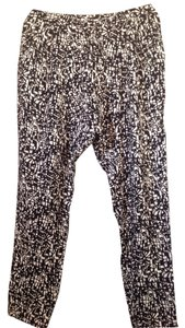 Rachel Roy Baggy Pants Black & white