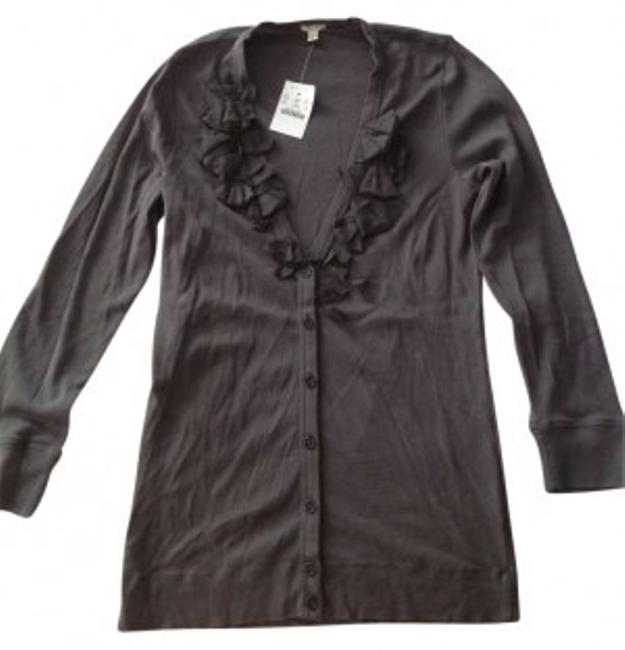 Preload https://item5.tradesy.com/images/jcrew-pewter-cardigan-size-8-m-146149-0-0.jpg?width=400&height=650
