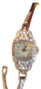 Hamilton HAMILTON Antique PLATINUM Diamond Watch