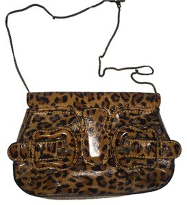 Fendi Leopard Clutch