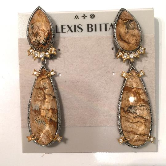 Alexis Bittar Duo Teardrop Crystal Dangle Earrings Image 10