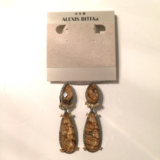 Alexis Bittar Duo Teardrop Crystal Dangle Earrings Image 11