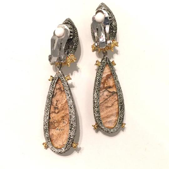 Alexis Bittar Duo Teardrop Crystal Dangle Earrings Image 3