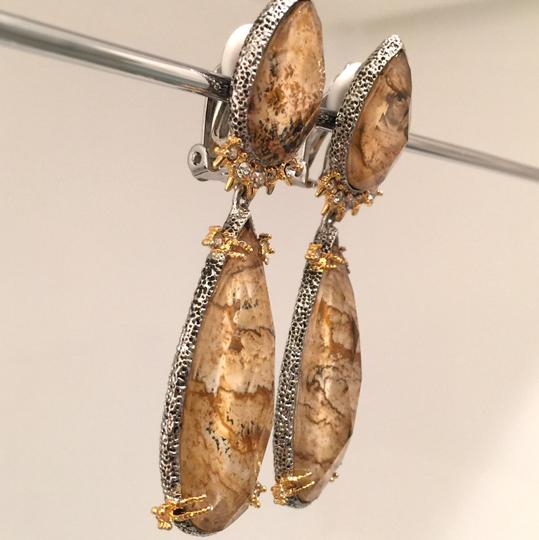 Alexis Bittar Duo Teardrop Crystal Dangle Earrings Image 6