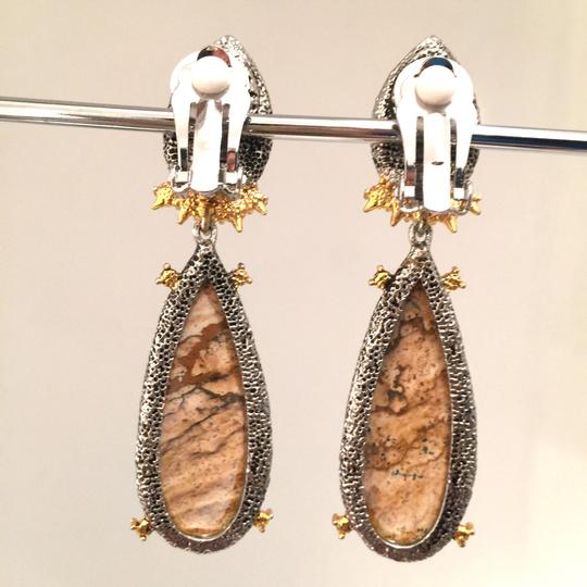 Alexis Bittar Duo Teardrop Crystal Dangle Earrings Image 7