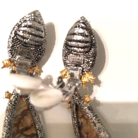 Alexis Bittar Duo Teardrop Crystal Dangle Earrings Image 8