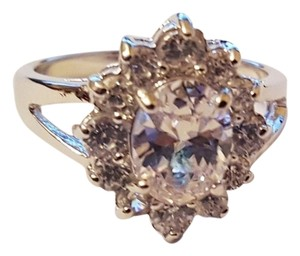 Other Gorgeous Cluster CZ ring with prong settig