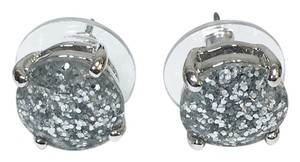 Kate Spade Kate Spade City Girl Glitter Stud Earrings NWT So Urban Industrial Modern!