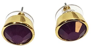 Kate Spade Kate Spade Amethyst Gumdrops Bevel Set Earrings NWT So Beautiful!