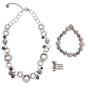 Majorica Majorica Pearls 3-Piece Accessories Set