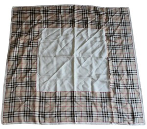 Burberry Tan, black multicolor Burberry Nova Check silk scarf New