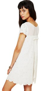 Free People short dress White Feminine Eyelet on Tradesy