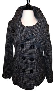 Dollhouse Houndstooth Size L Pea Coat