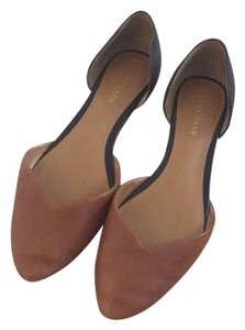 Cole Haan Black and Tan Flats