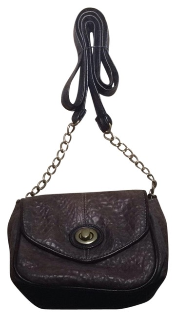 Item - Black/Brown/Gold Cross Body Bag