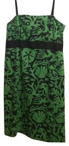 Vineyard Vines short dress Kelly Green w/ Navy Seaside Print on Tradesy
