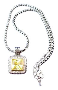 Other Vintage Costume Jewelry Necklace with Striking Pendant Drop