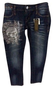 Ed Hardy Straight Leg Jeans-Light Wash