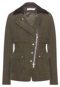 Altuzarra Never Worn FRENCH SIZE 42/ US 10/ OLIVE GREEN AND BROWN CORDUROY COLLAR Blazer