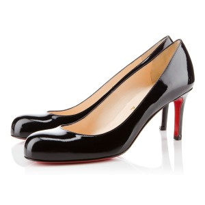 Christian Louboutin Black Patent---Same day shipping Pumps
