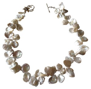 August Steiner Keshi pearl necklace