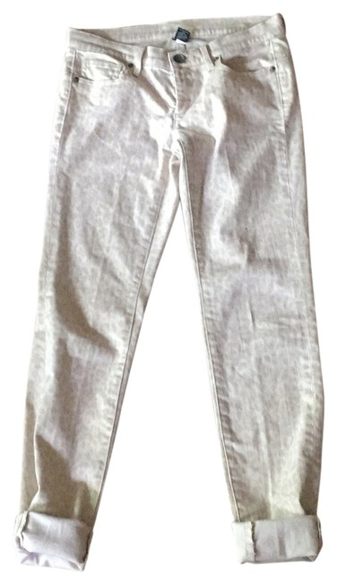 Item - Beige and White Animal Print Siren Pants Size 4 (S, 27)