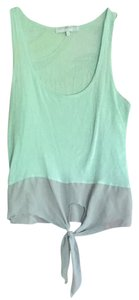 DAYDREAMER Top Mint Green and Gray