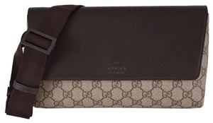 Gucci NEW Gucci Men's 353435 GG Supreme Coated Canvas Fanny Pack Waist Bag Sling