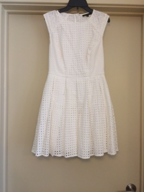 Rachel Zoe short dress White Eyelet Fit And Flare Spring Easter on Tradesy Image 4