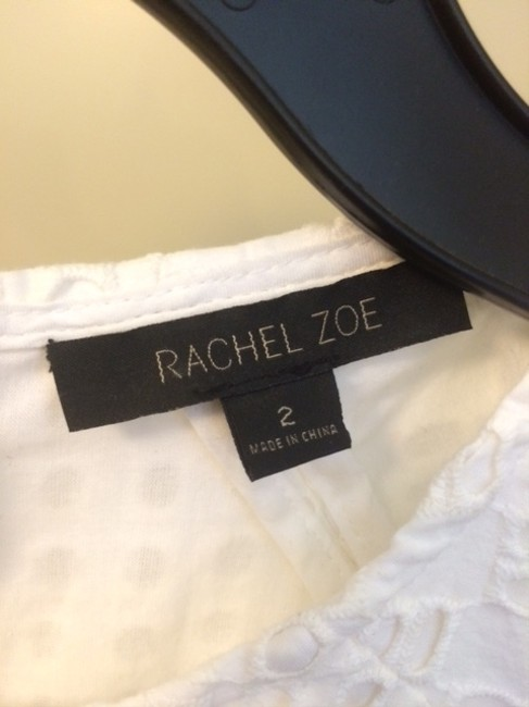 Rachel Zoe short dress White Eyelet Fit And Flare Spring Easter on Tradesy Image 5