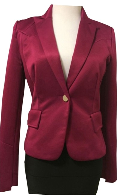 Preload https://img-static.tradesy.com/item/14618803/mary-l-couture-crambery-lucy-and-co-one-button-blazer-size-8-m-0-1-650-650.jpg