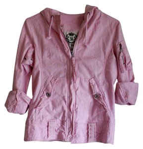BB Dakota Linen Lightweight Pink Jacket