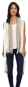 Vince Camuto Vince Camuto - Patchwork Stripe (White) Scarves One Size NWT