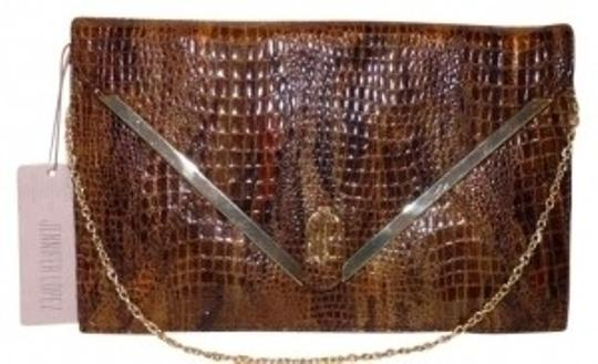 Preload https://img-static.tradesy.com/item/146190/jennifer-lopez-rochelleenvelope-brown-olive-clutch-0-0-540-540.jpg