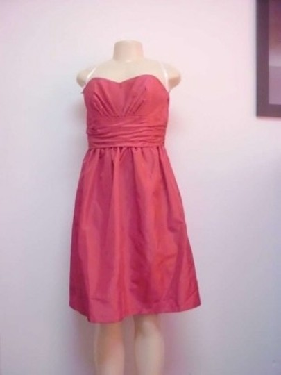 Alfred Angelo Ever After Taffeta 502 Formal Bridesmaid/Mob Dress Size 12 (L)
