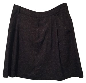 Rachel Roy Mini Skirt Black and white tweed