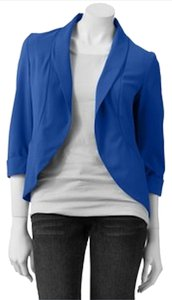 Candie's Blazer Girly Work Style Top Blue