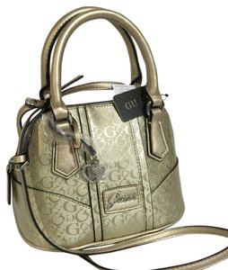 Guess Satchel in Gold