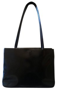 Joop! Handmade All Leather Vintage Satchel in Black