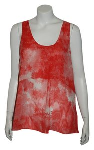 Madewell Top red/White