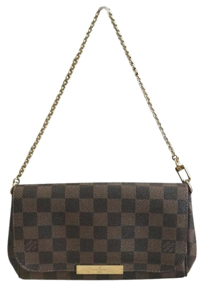 26ea4ca39d37 Louis Vuitton Favorite Pm with Dustbag Receipt Date Code Sa1165 ...