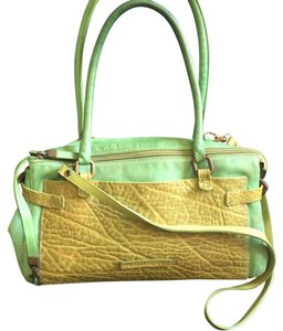 Other Spring Green Strap Cross Body Puntotres Satchel