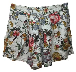 Bluette Mini/Short Shorts White Floral