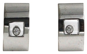 Chopard Chopard 18K White Gold Happy Diamond Earring 843335
