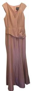 Black Halo Rosegold Gown Classic Dress
