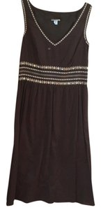 Ann Taylor LOFT short dress Brown on Tradesy