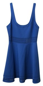 Elizabeth and James short dress Royal blue on Tradesy