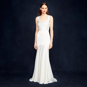 J.Crew Jillian Open Back Wedding Dress