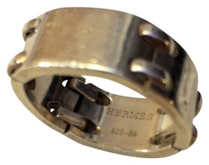 Hermès Genuine Silver Hermes Multi-Joint Ring